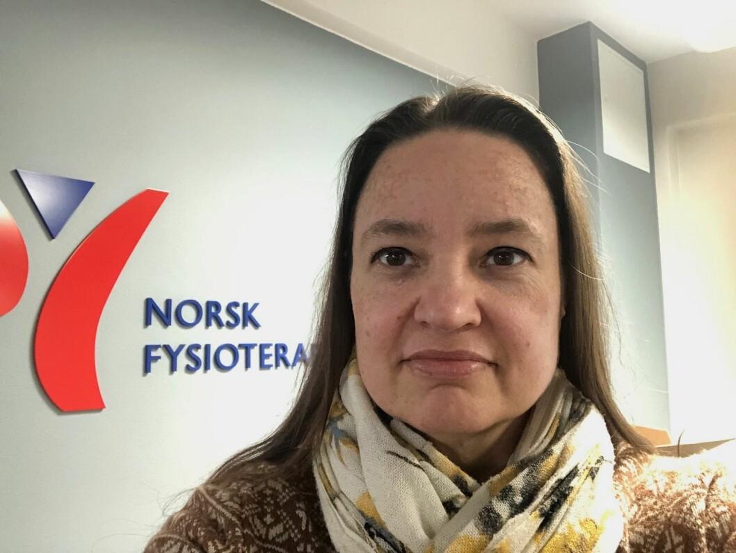 Forhandlingssjef og advokat Thea Wessel Jørgensen i Norsk Fysioterapeutforbund