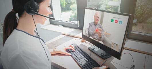 Fysioterapeuter får takst for videooppfølging