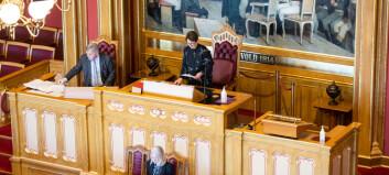 Stortinget vedtar kontantstøttepakken