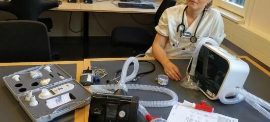 Mini-PEP redder ikke covid-19-pasienter fra respirator