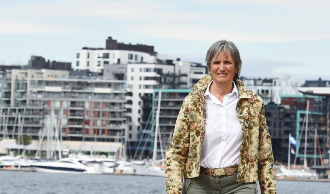 Forbundsleder Gerty Lund mener det er på tide fysioterapeutene i Bærum kommer tilbake til sine ordinære jobber. Foto: Irene Mårdalen