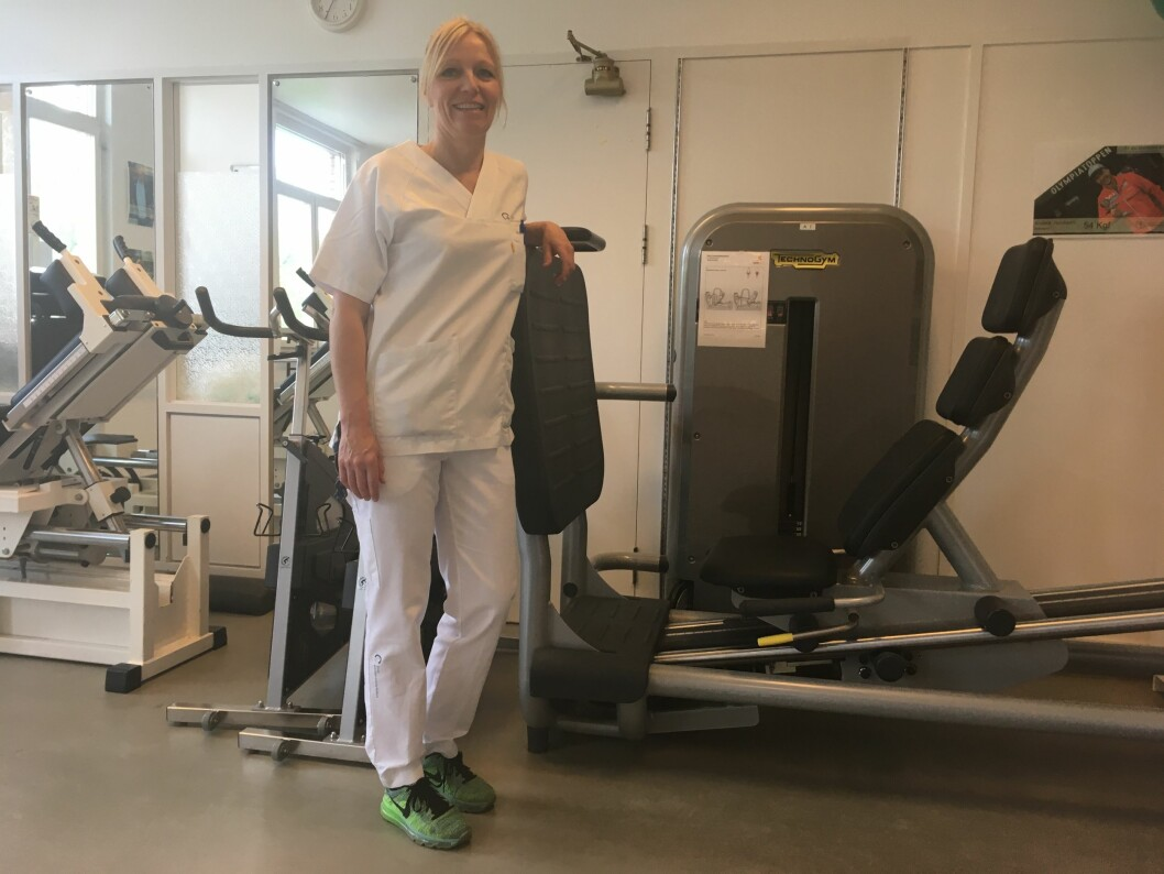 – Skal du skape enda sterkere forbindelser i hjernen, må du legge til variasjon i treningen, sier Charlotta Hamre, som jobber på Oslo universitetssykehus Ullevål. (Foto: privat)