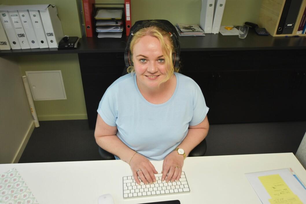 Regionleder Ann-Elin Myklebust har greid å øke engasjementet takket være digitale løsninger. Foto: Irene Mårdalen