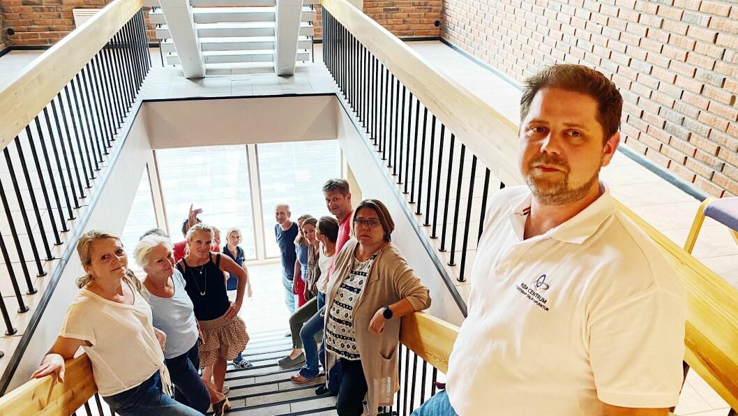 Bydel Vestre Aker kutter 2.2 millioner i fysioterapihjemler. Fysioterapeutene ønsker konsekvensutredning. Foto: Irene Mårdalen.