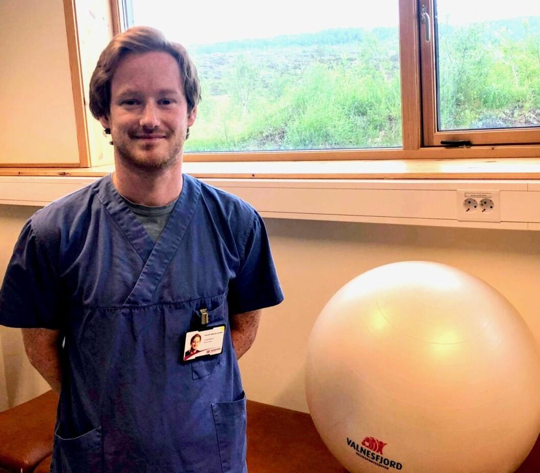 Kenneth Pedersen Laumann er ny nevrologisk fysioterapeut. Foto: Privat.