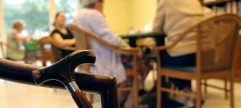 Etterlyser trening på sykehjem