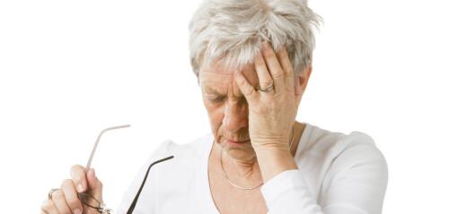 Svimmelhet blant eldre
