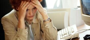 Psykisk krevende arbeid kan gi muskelplager
