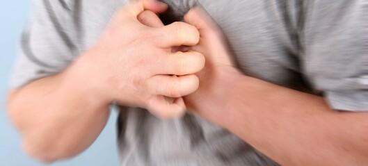 Ikke færre infarkt blant yngre