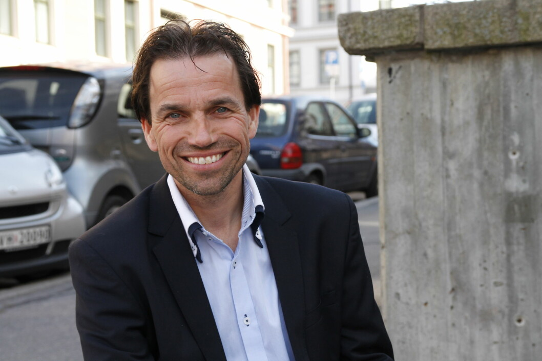 - Få meg på! Lederen for Region Sør-Øst, Bas Van den Beld, vil gjøre seg synlig både i klassiske og sosiale media. Foto: Tone Galåen.