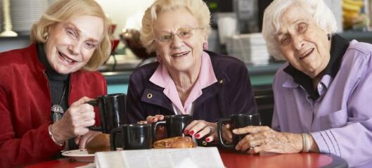 Lykkelig alderdom som frivillig