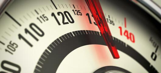Knebesvær hos unge overvektige