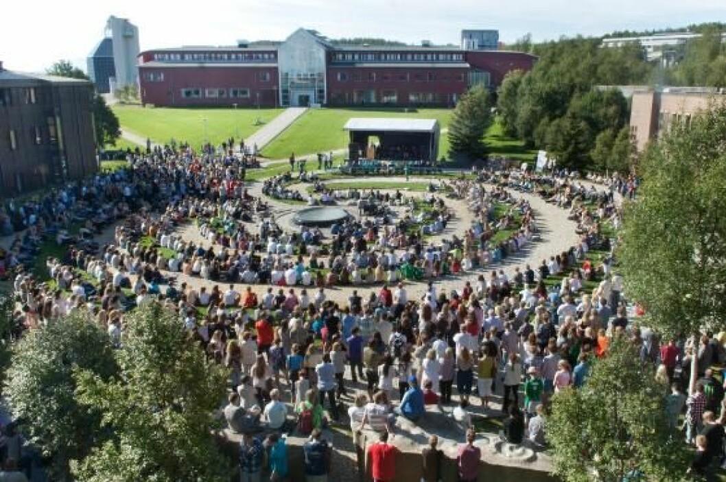 Foto: Universitetet i Tromsø