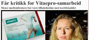 Revmatikerforbundet får kritikk for VitaePro-samarbeid