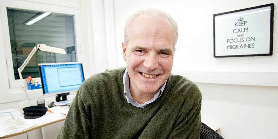 Forsker John-Anker Zwart. Foto: Ram Gupta, Oslo universitetssykehus