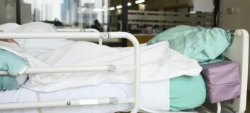 En av seks eldre blir reinnlagt i norske sykehus