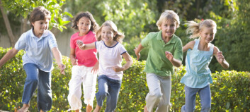 Stabile tall for overvekt og fedme blant barn