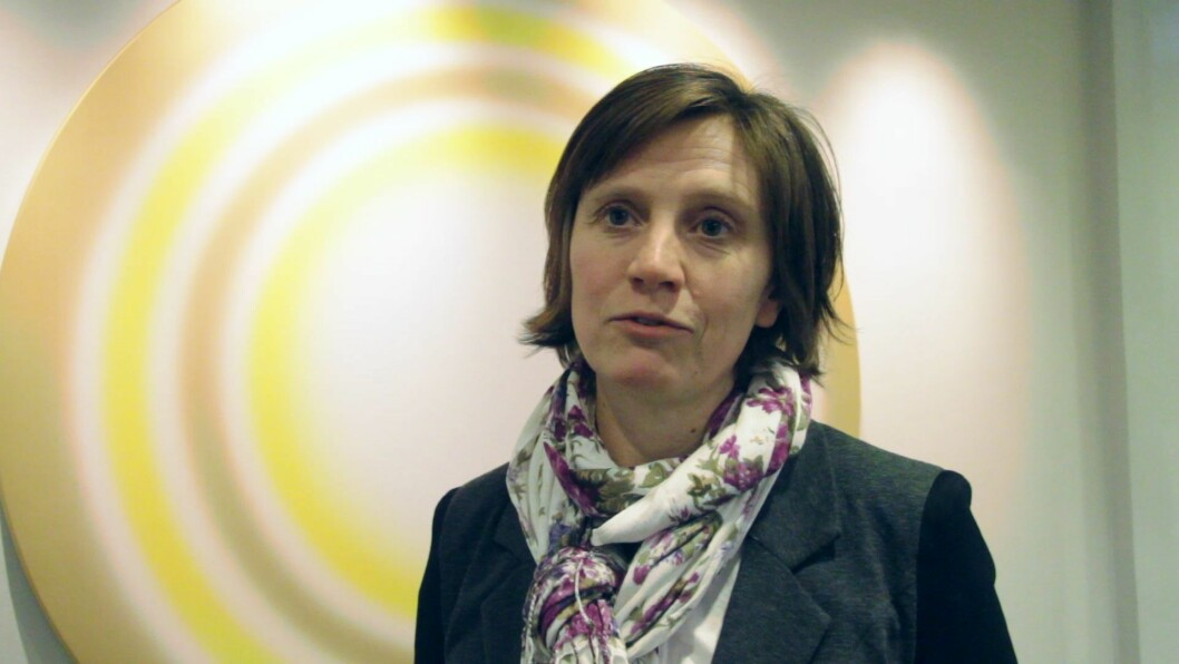 Stortingsrepresentant og forslagsstiller Kjersti Toppe (Sp).