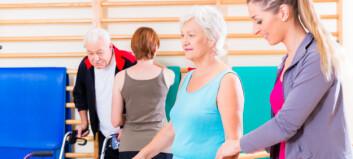 Økt bruk av avtalefysioterapeuter og gruppebehandling