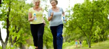 Fysisk aktivitet reduserer kreftrisikoen