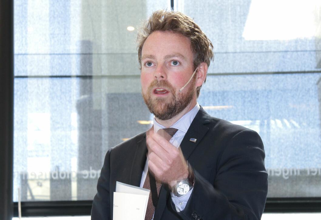 Kunnskapsminister Torbjørn Røe Isaksen. Foto: Kai Hovden