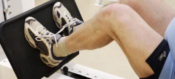 Kraftig reduksjon i kne- og skulderoperasjoner