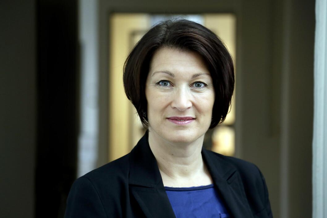 Leder i Danske Fysioterapeuter, Tina Lambrecht. Foto: Henrik Frydkjær
