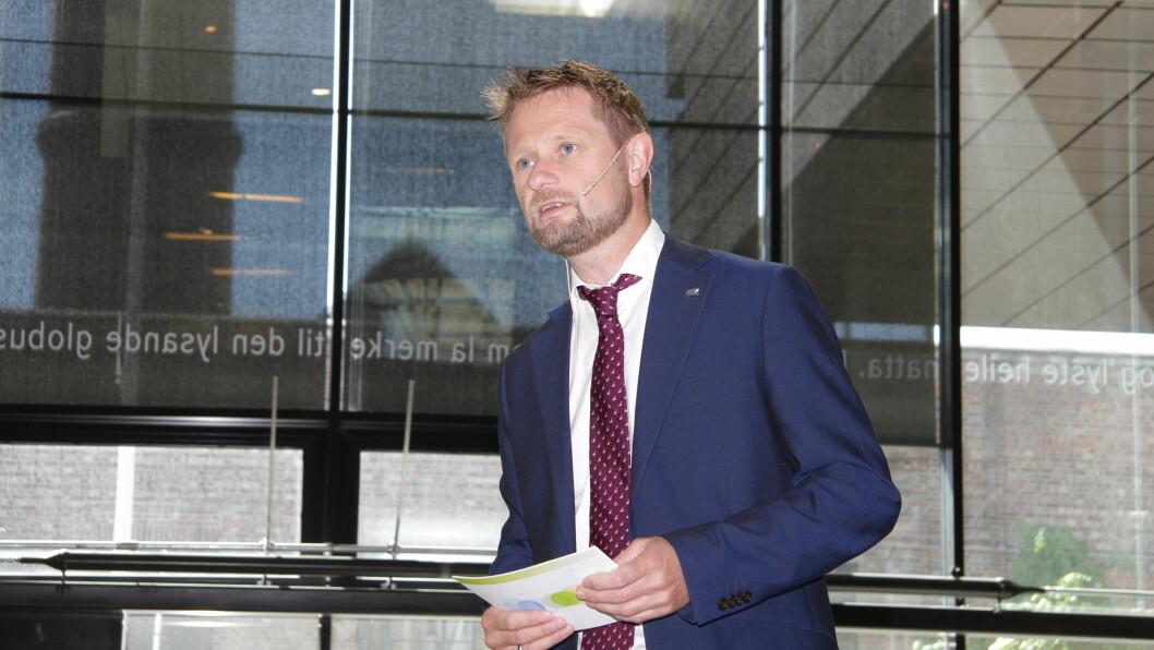 Helse- og omsorgsminister Bent Høie. Foto: Kai Hovden