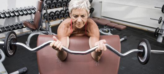 Bedre blodtrykk med tung styrketrening