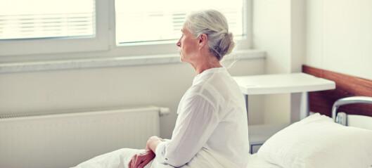Enkle tiltak kan hindre funksjonsfall hos eldre på sykehus