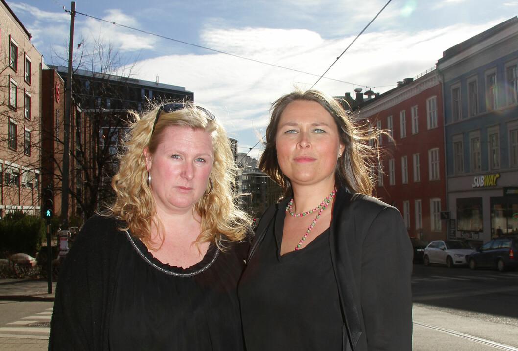 Kamp kronet med seier. Regionleder Karianne Bruun Haugen og hovedtillitsvalgt i Oslo kommune, Hege Munthe, har arbeidet intenst for å få SYE til å snu.