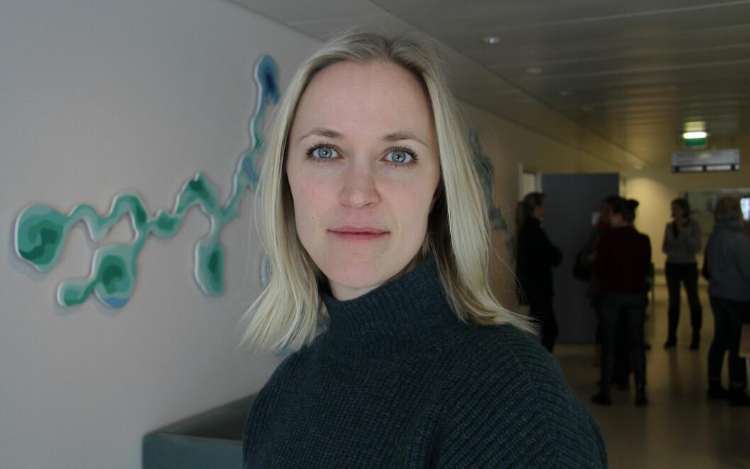 Faggruppeleder Pernille Lunde. Foto: Kai Hovden
