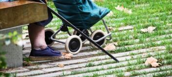 Ny rapport: 60% dør etter fylte 80 år