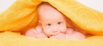 Utviklingsforsinkelser hos barn fra 0-2 år