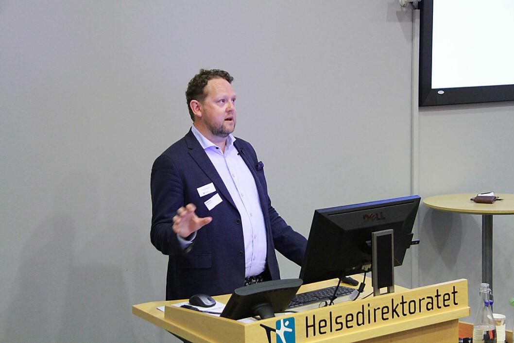 STAMI-direktør Pål Molander. Foto: Kai Hovden