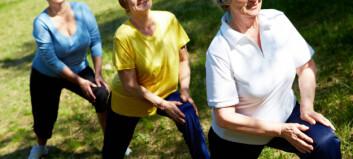 Slanking bør suppleres med kondisjon- og styrketrening hos eldre
