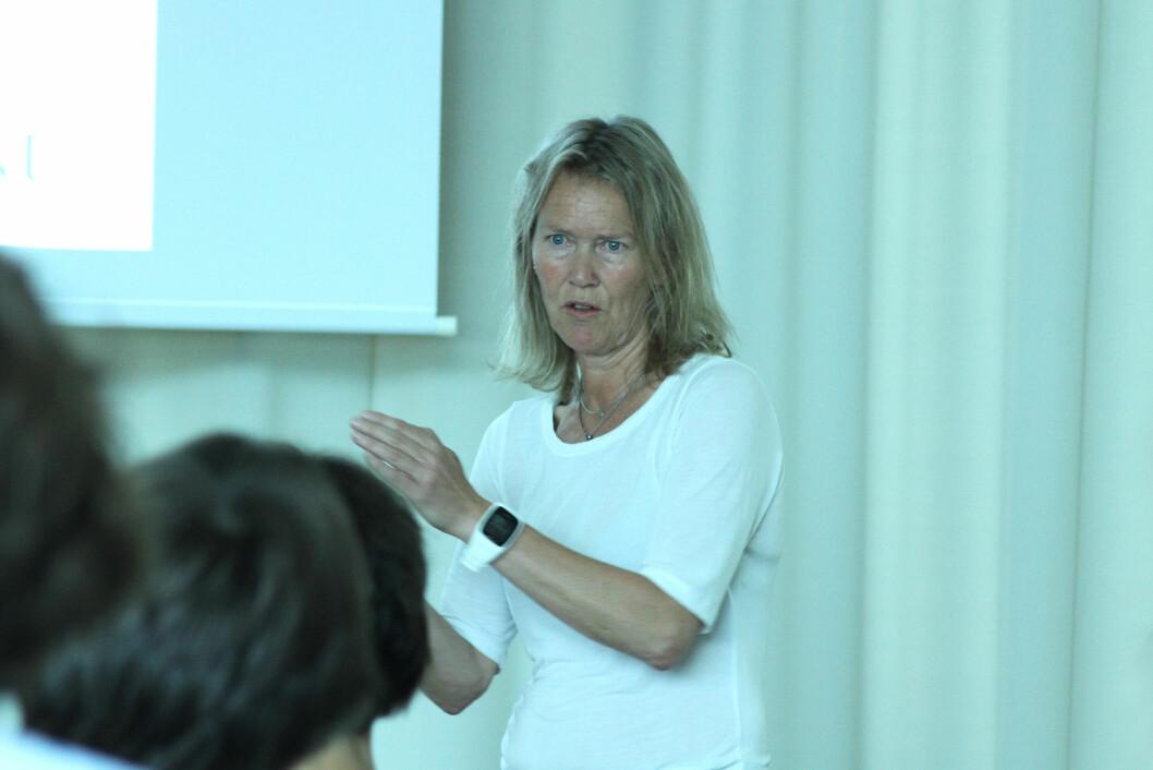 Inger-Lise Aamot, fysioterapeut, ph.d. og fagleder i Nasjonal kompetansetjeneste Trening som medisin ved St. Olavs Hospital. Foto: Kai Hovden