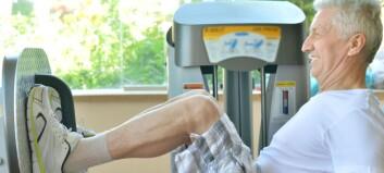 Strukturert styrketrening for eldre gav økt muskelmasse