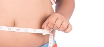Mer overvekt blant barn på bygda