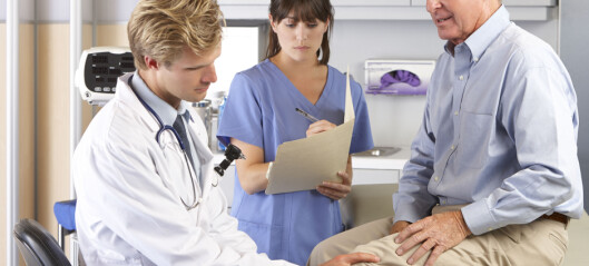Vil se på alternativer til operasjon med kneprotese