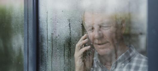 Regn påvirker eldres trening