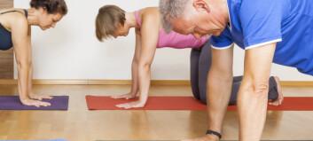 Verdifull trening for kreftrammede