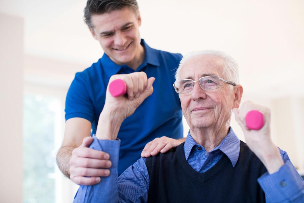 Mange klarer seg bedre etter et slag om de har gått turer og vært fysisk aktive før slaget rammet. Færre av disse får alvorlige følger, viser en studie.