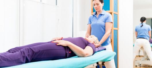 Økt fysioterapi får ikke sykmeldte tilbake i jobb