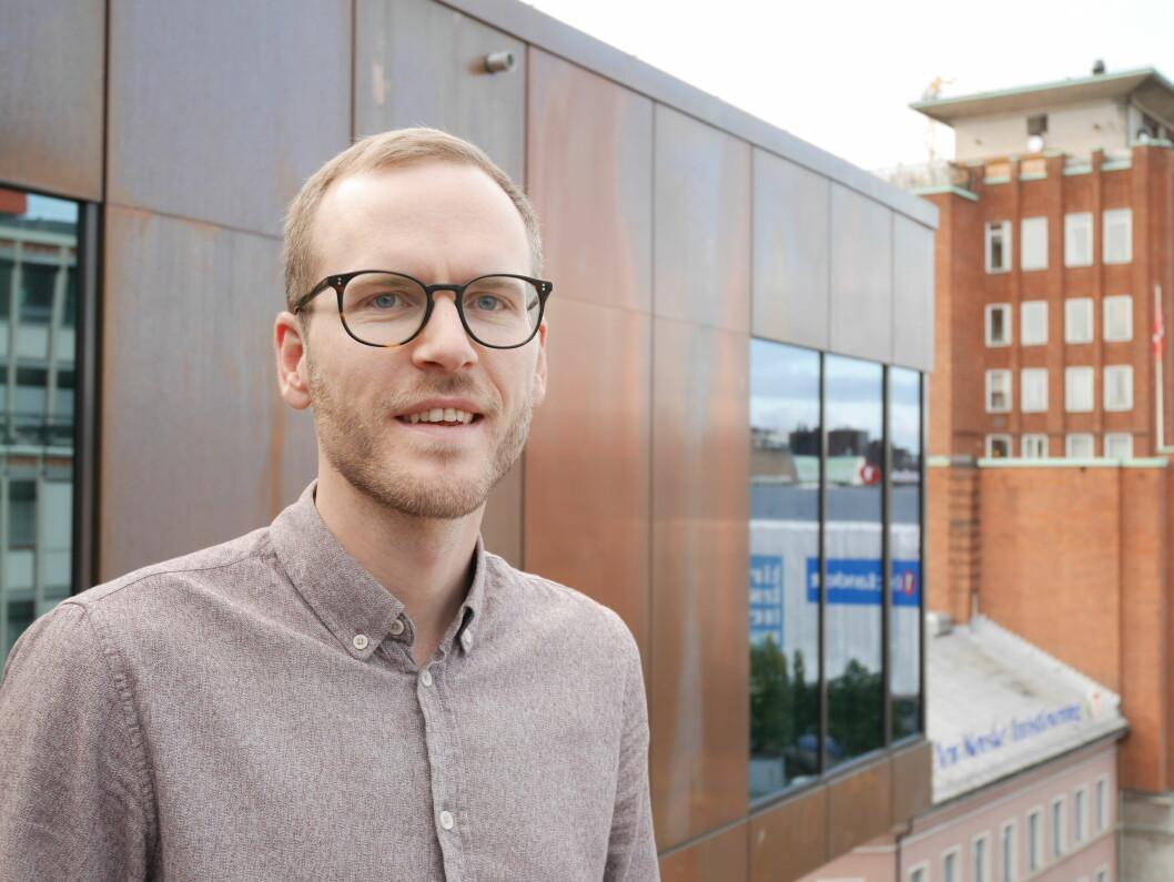 Samfunnsøkonom Sindre Farstad har tro på en sprekere framtid for de eldre i Norge. Foto: Pensjonistforbundet.