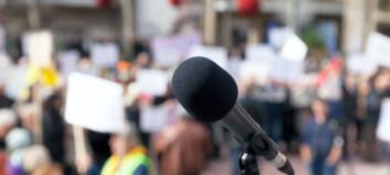 Markerer støtte til sykepleiere i streik
