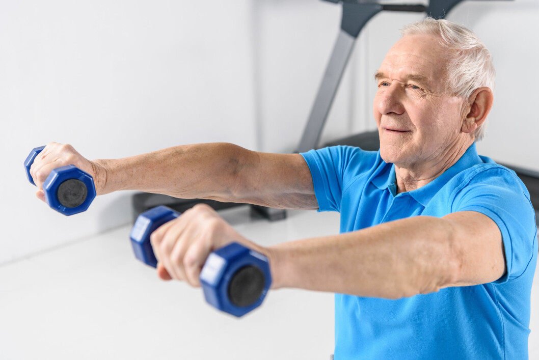 """Organiserte tilbud om trening i gruppe gir best effekt, skriver regjeringen i Stortingsmeldingen om eldrereformen """"Leve hele livet""""."""