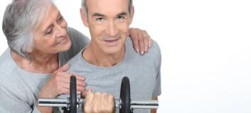 Enkle øvelser kan øke eldres muskelmasse