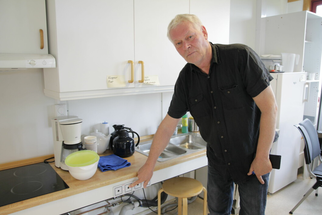Blant velferdsteknologi som kan fungere bra, nevner Jon Sørgaard ulike tilpasninger av hjemmet, som hev- og senkfunksjon på kjøkkenbenk og skap.
