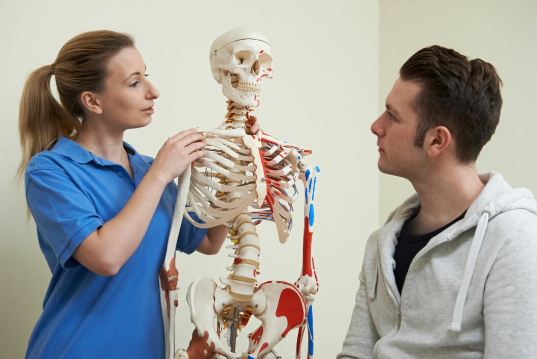 Fysioterapeuter er blitt spurt om utdanningen var et godt grunnlag for å starte yrkeskarrieren. Nesten halvparten sa at de var middels fornøyd eller ikke fornøyd.